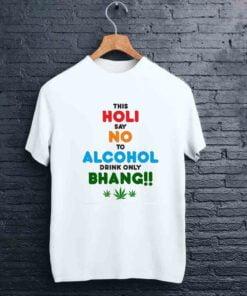 Drink Bhang Holi T shirt - CoversGap