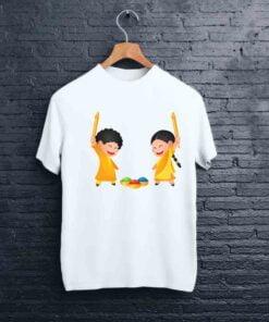 Happy Kids Pichkari Holi T shirt - CoversGap