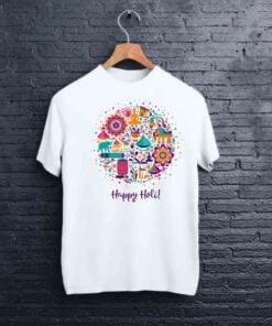 Multi Design Holi T shirt - CoversGap