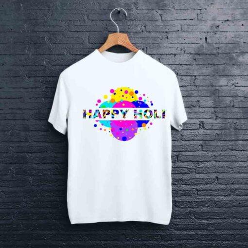 Multi Dot Holi T shirt - CoversGap
