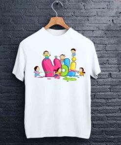 Playing Kids Holi T shirt - CoversGap