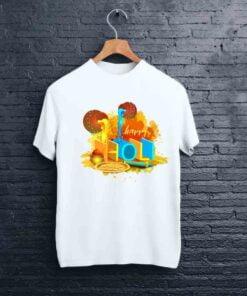 Pot Artwork Holi T shirt - CoversGap