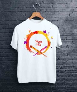 Rocket Print Holi T shirt - CoversGap