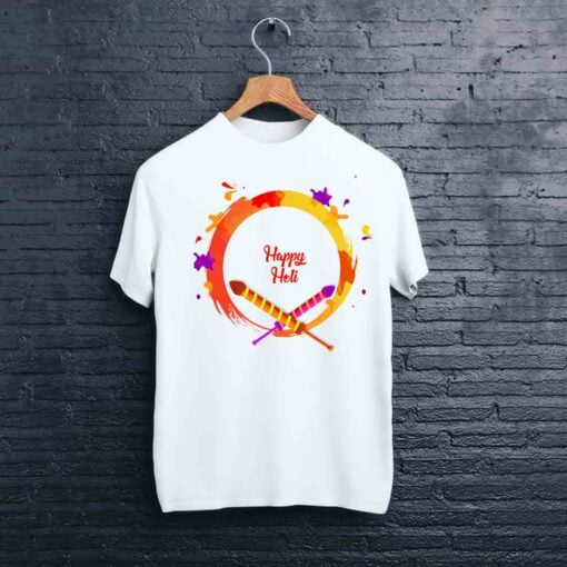 Rocket Print Holi T shirt - CoversGap