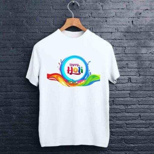 Water Circle Holi T shirt - CoversGap