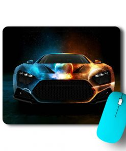 Angry Car Mouse Pad - CoversGap