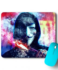 Hacker Fire Mouse Pad - CoversGap