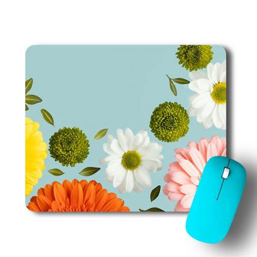 Multi Flower Mouse Pad - CoversGap