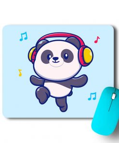Music Panda Mouse Pad - CoversGap