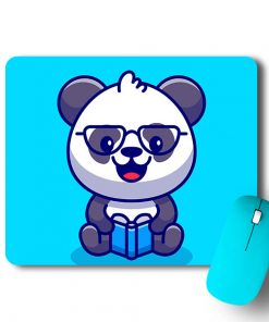 Reading Panda Mouse Pad - CoversGap
