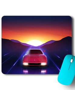 Red Car Mouse Pad - CoversGap