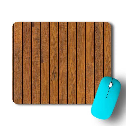 Wood Print Mouse Pad - CoversGap