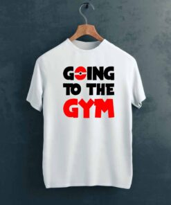 Going To Gym T shirt on Hanger