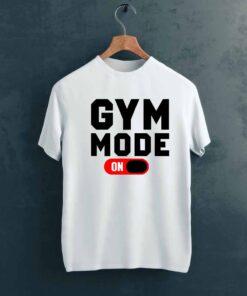 Gym Mode Gym T shirt on Hanger