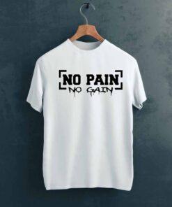 No Pain Gym T shirt on Hanger