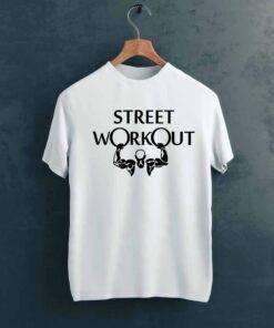 Street WorkOut Gym T shirt on Hanger