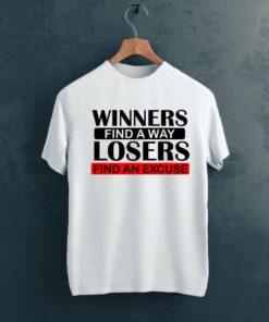 Winners Gym T shirt on Hanger