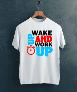 Work Up Gym T shirt on Hanger
