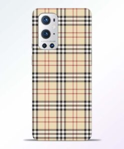 Burberry Oneplus 9 Pro Back Cover