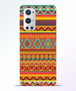 Ethnic Pattern Oneplus 9 Pro Back Cover