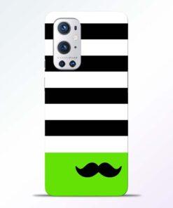 Multicolor Stripe Oneplus 9 Pro Back Cover