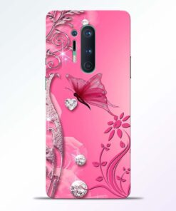 Abstract Butterfly Oneplus 8 Pro Back Cover