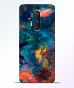 Artwork Paint Oneplus 8 Pro Back Cover