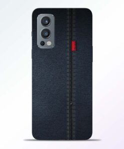 Blue Jeans Pattern Oneplus Nord 2 Back Cover