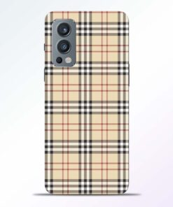 Burberry Oneplus Nord 2 Back Cover