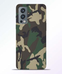 Camouflage Army Oneplus Nord 2 Back Cover