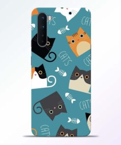Cat Love Oneplus Nord Back Cover