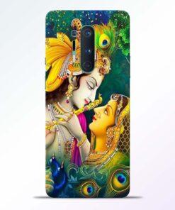Cute Radha Krishna Oneplus 8 Pro Back Cover