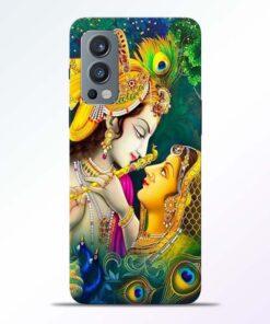 Cute Radha Krishna Oneplus Nord 2 Back Cover