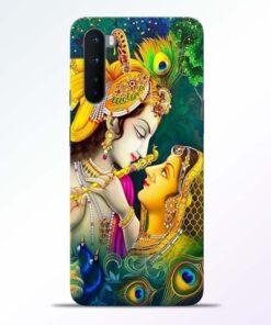 Cute Radha Krishna Oneplus Nord Back Cover