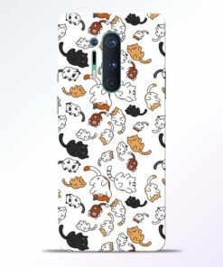 Cutest Cat Oneplus 8 Pro Back Cover