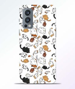 Cutest Cat Oneplus Nord 2 Back Cover