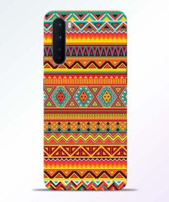 Ethnic Pattern Oneplus Nord Back Cover