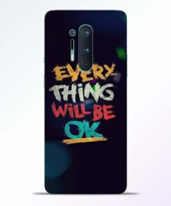 Every Thing Quotes Oneplus 8 Pro Back Cover