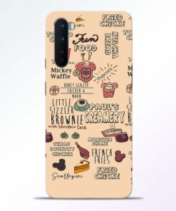 Food Clipart Oneplus Nord Back Cover
