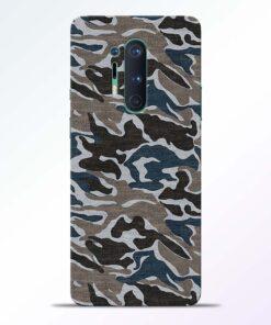 Funkey Camouflage Oneplus 8 Pro Back Cover