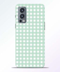 Green Pattern Oneplus Nord 2 Back Cover