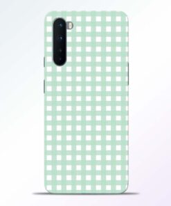 Green Pattern Oneplus Nord Back Cover