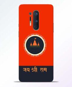 Jai Shree Ram Oneplus 8 Pro Back Cover