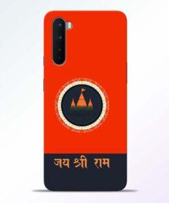 Jai Shree Ram Oneplus Nord Back Cover