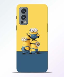 Minions Art Oneplus Nord 2 Back Cover