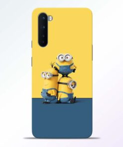 Minions Art Oneplus Nord Back Cover