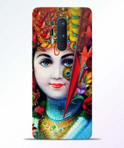 Multicolor Krishna Oneplus 8 Pro Back Cover
