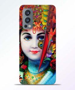 Multicolor Krishna Oneplus Nord 2 Back Cover
