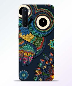 Multicolor Owl Oneplus Nord Back Cover