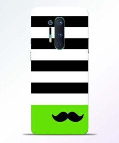 Multicolor Stripe Oneplus 8 Pro Back Cover